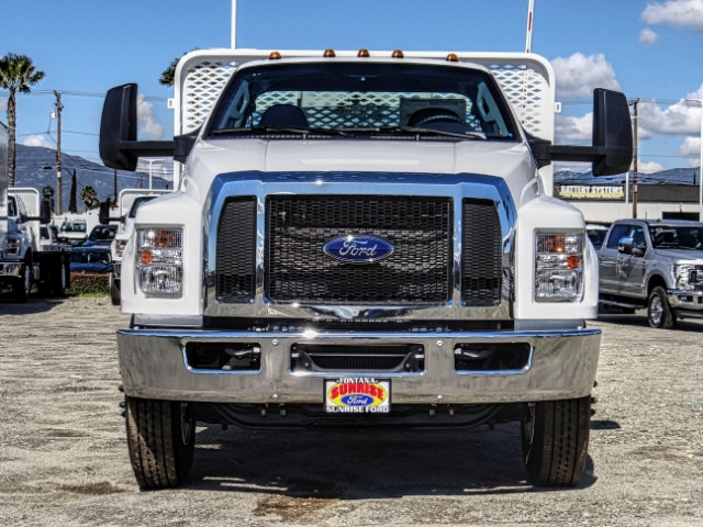 2019 F-650 Regular Cab DRW 4x2,  Scelzi Flatbed #FK2096 - photo 9