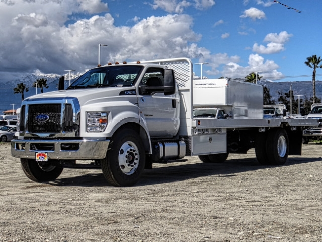 2019 F-650 Regular Cab DRW 4x2,  Scelzi Flatbed #FK2096 - photo 1