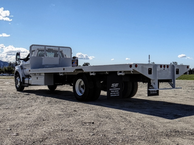 2019 F-650 Regular Cab DRW 4x2,  Scelzi Flatbed #FK2096 - photo 2