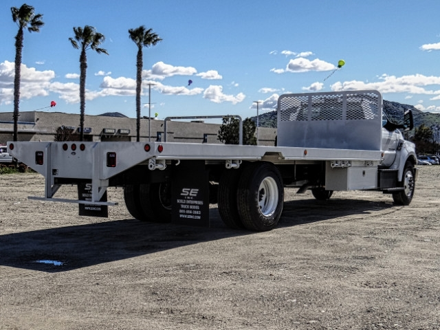 2019 F-650 Regular Cab DRW 4x2,  Scelzi Flatbed #FK2096 - photo 6