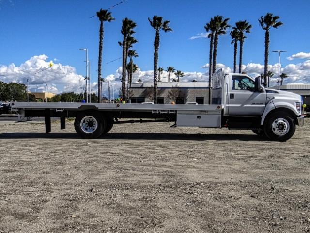 2019 F-650 Regular Cab DRW 4x2,  Scelzi Flatbed #FK2096 - photo 7