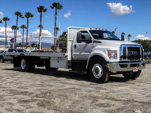 2019 F-650 Regular Cab DRW 4x2,  Scelzi Flatbed #FK2096 - photo 8