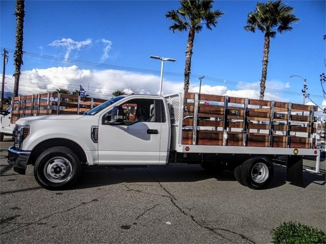 2019 F-350 Regular Cab DRW 4x2,  Scelzi Stake Bed #FK2111 - photo 3