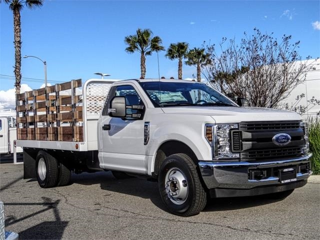 2019 F-350 Regular Cab DRW 4x2,  Scelzi Stake Bed #FK2111 - photo 6