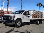 2019 F-350 Regular Cab DRW 4x2,  Scelzi Stake Bed #FK2111 - photo 1