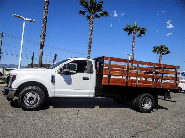 2019 F-350 Regular Cab DRW 4x2,  Harbor Black Boss Stake Bed #FK2112 - photo 3