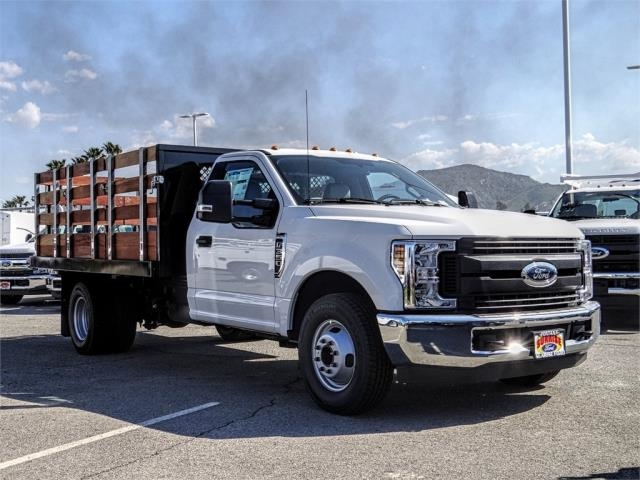 2019 F-350 Regular Cab DRW 4x2,  Harbor Black Boss Stake Bed #FK2112 - photo 6