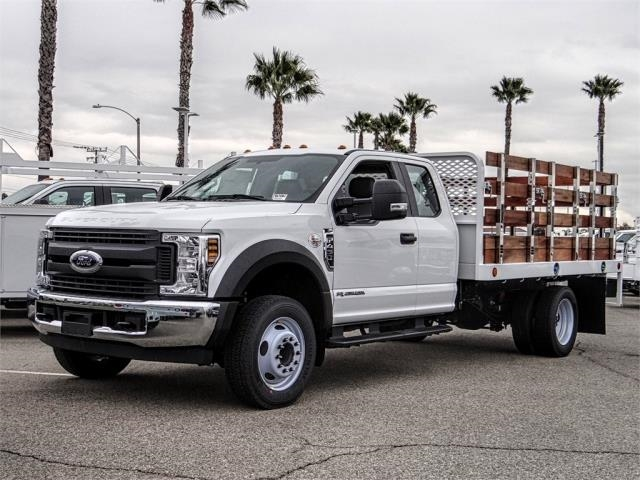 2019 F-450 Super Cab DRW 4x2,  Scelzi Stake Bed #FK2179 - photo 1