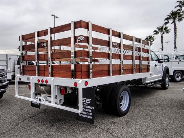 2019 F-450 Super Cab DRW 4x2,  Scelzi Stake Bed #FK2179 - photo 4
