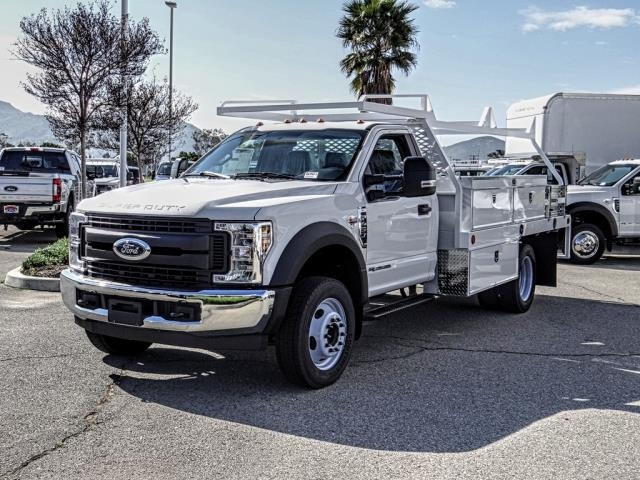 2019 F-450 Regular Cab DRW 4x2,  Scelzi Contractor Body #FK2180 - photo 1