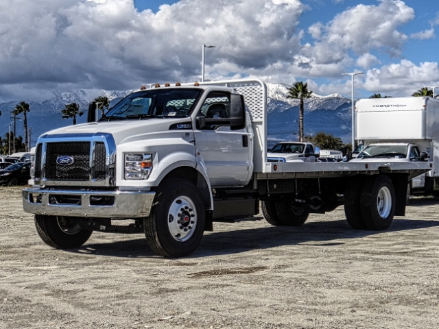 2019 F-650 Regular Cab DRW 4x2,  Scelzi Flatbed #FK2195 - photo 1