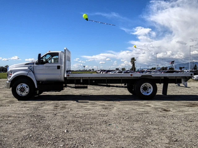 2019 F-650 Regular Cab DRW 4x2,  Scelzi Flatbed #FK2195 - photo 2
