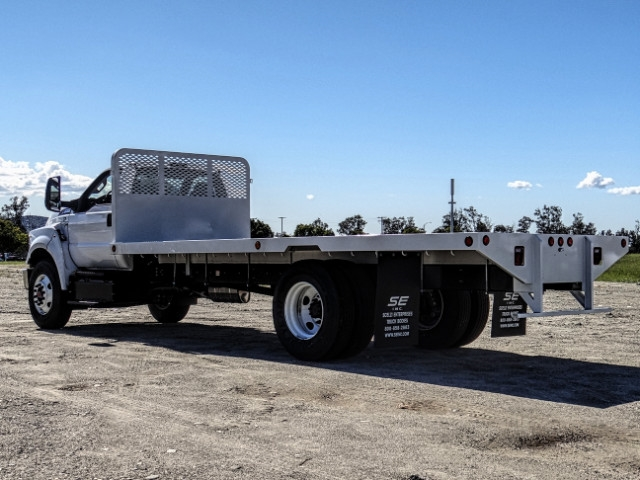 2019 F-650 Regular Cab DRW 4x2,  Scelzi Flatbed #FK2195 - photo 3