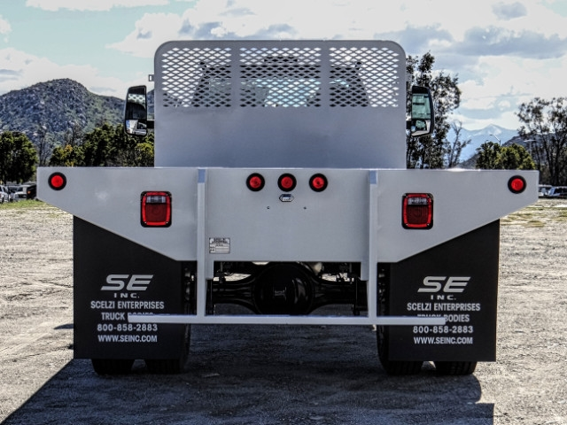 2019 F-650 Regular Cab DRW 4x2,  Scelzi Flatbed #FK2195 - photo 4