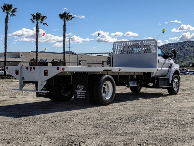 2019 F-650 Regular Cab DRW 4x2,  Scelzi Flatbed #FK2195 - photo 5