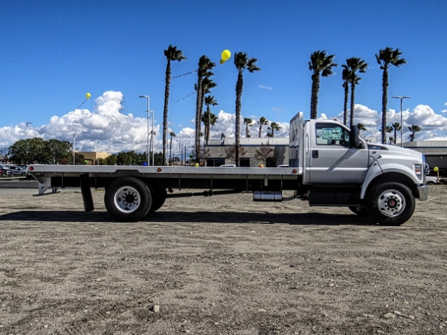 2019 F-650 Regular Cab DRW 4x2,  Scelzi Flatbed #FK2195 - photo 6