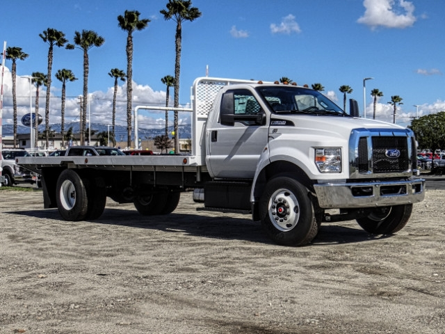 2019 F-650 Regular Cab DRW 4x2,  Scelzi Flatbed #FK2195 - photo 7