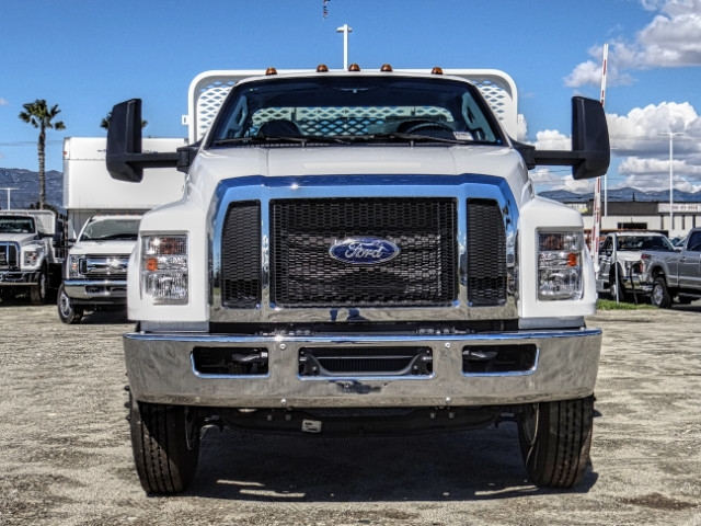 2019 F-650 Regular Cab DRW 4x2,  Scelzi Flatbed #FK2195 - photo 8
