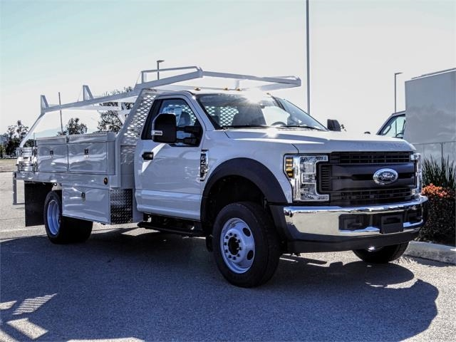 2019 F-450 Regular Cab DRW 4x2,  Scelzi Contractor Body #FK2268 - photo 6