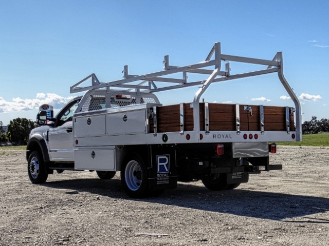 2019 F-550 Regular Cab DRW 4x2,  Royal Contractor Body #FK2269 - photo 2
