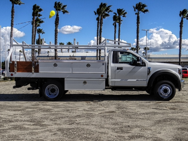 2019 F-550 Regular Cab DRW 4x2,  Royal Contractor Body #FK2269 - photo 6