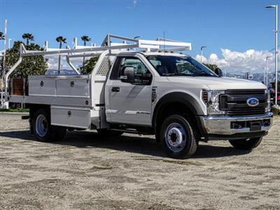 2019 F-550 Regular Cab DRW 4x2,  Royal Contractor Body #FK2269 - photo 7