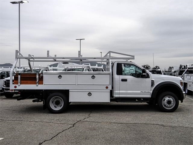 2019 F-550 Regular Cab DRW 4x2,  Royal Contractor Body #FK2270 - photo 5