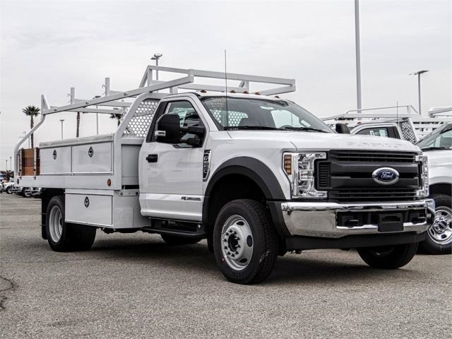 2019 F-550 Regular Cab DRW 4x2,  Royal Contractor Body #FK2270 - photo 6