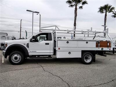 2019 F-550 Regular Cab DRW 4x2,  Royal Contractor Body #FK2270 - photo 3