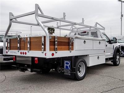 2019 F-550 Regular Cab DRW 4x2,  Royal Contractor Body #FK2270 - photo 4