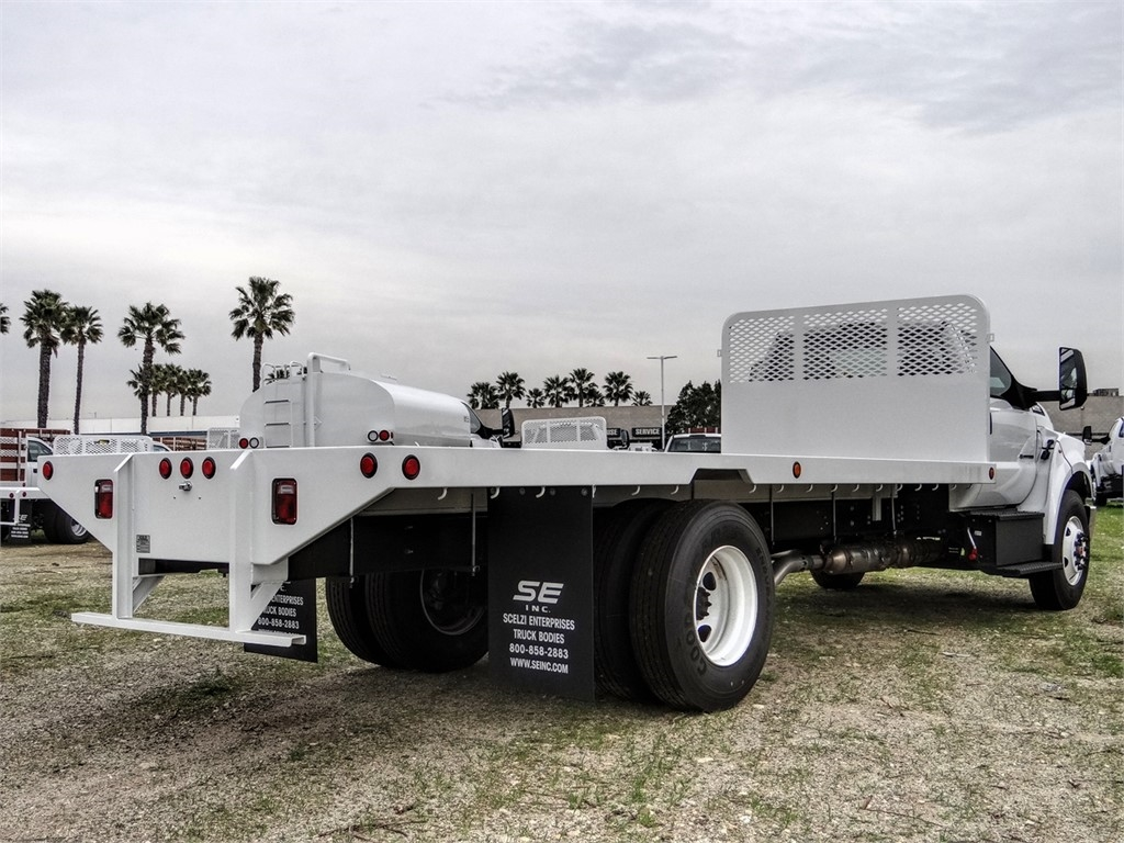 2019 F-650 Regular Cab DRW 4x2, Scelzi SFB Flatbed #FK2378 - photo 4