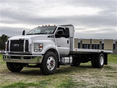 2019 F-650 Regular Cab DRW 4x2, Scelzi SFB Flatbed #FK2378 - photo 1