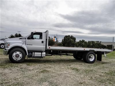 2019 F-650 Regular Cab DRW 4x2, Scelzi SFB Flatbed #FK2378 - photo 3