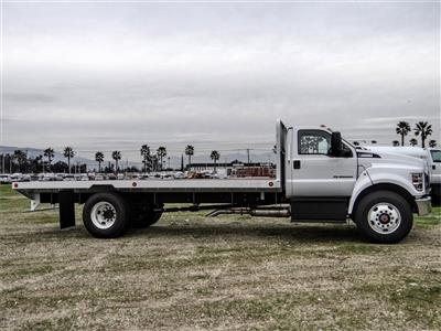 2019 F-650 Regular Cab DRW 4x2, Scelzi SFB Flatbed #FK2378 - photo 5