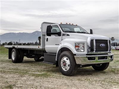 2019 F-650 Regular Cab DRW 4x2, Scelzi SFB Flatbed #FK2378 - photo 6