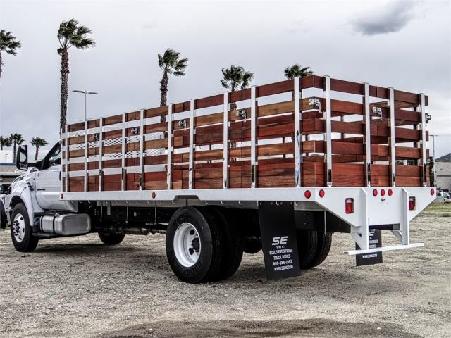 2019 F-650 Regular Cab DRW 4x2,  Scelzi Stake Bed #FK2427 - photo 1