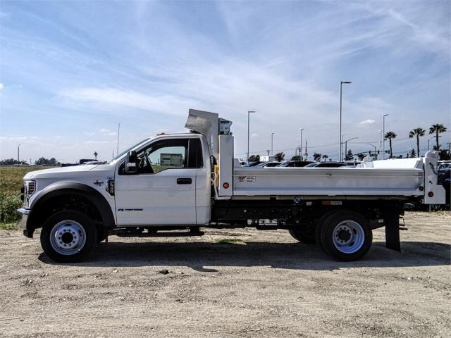 2019 F-550 Regular Cab DRW 4x2,  Scelzi Dump Body #FK2434 - photo 1