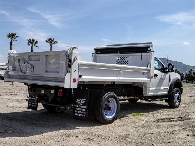 2019 F-550 Regular Cab DRW 4x2,  Scelzi Dump Body #FK2434 - photo 4