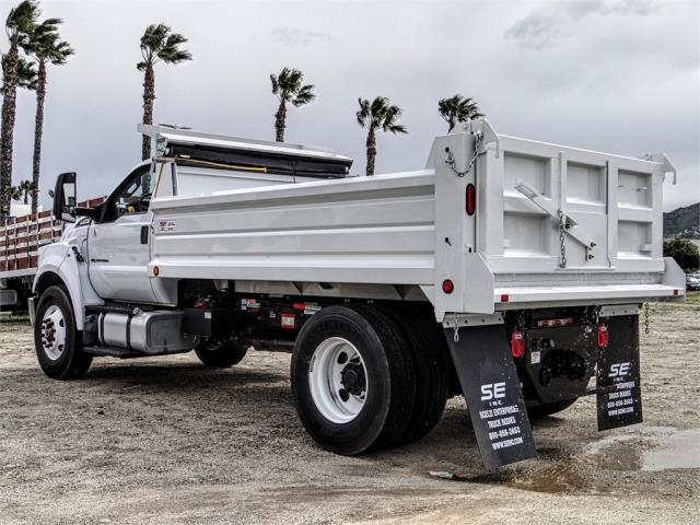 2019 F-750 Regular Cab DRW 4x2,  Scelzi Dump Body #FK2497 - photo 1