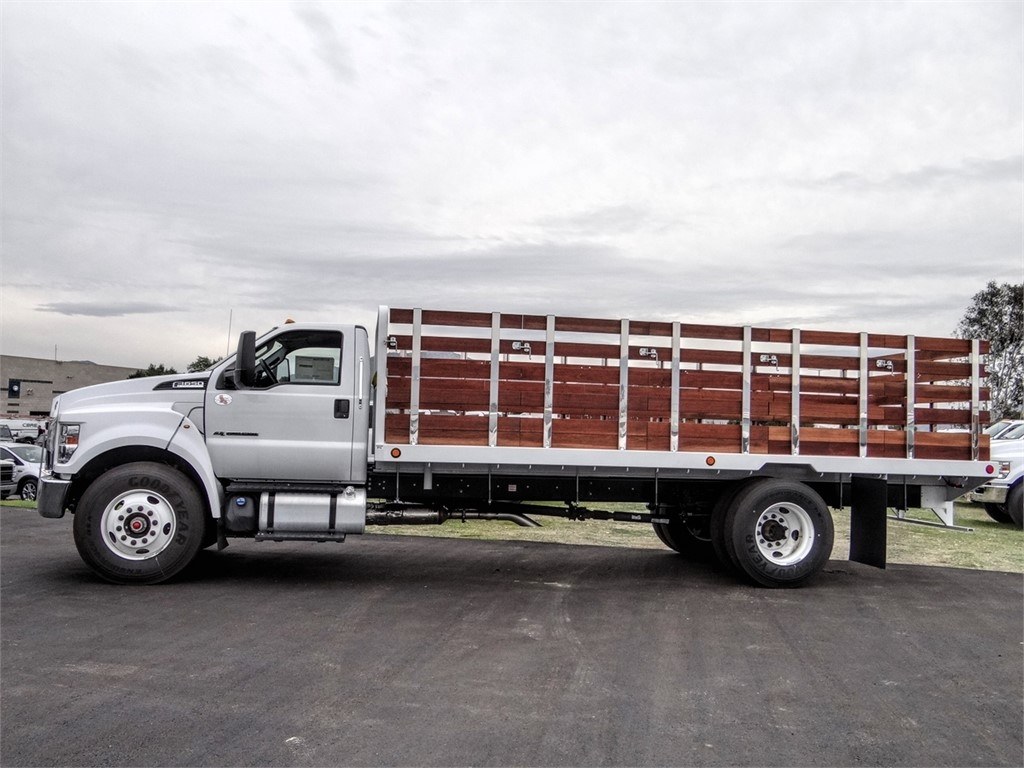 2019 F-650 Regular Cab DRW 4x2,  Scelzi SFB Stake Bed #FK2608 - photo 3