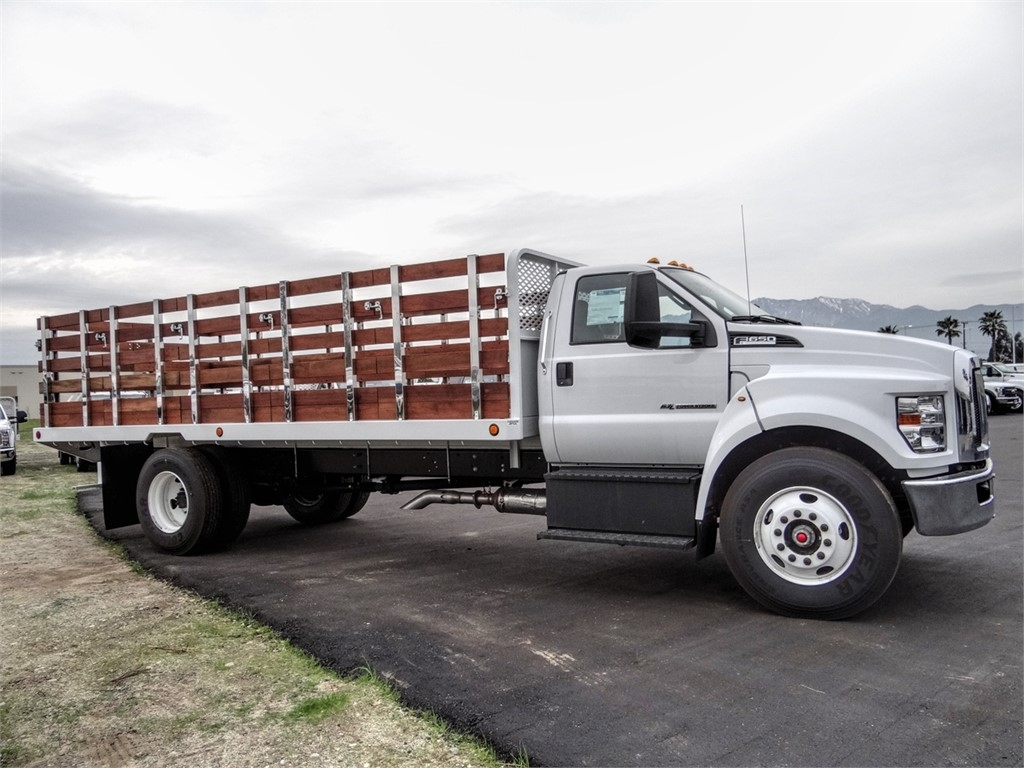 2019 F-650 Regular Cab DRW 4x2, Scelzi SFB Stake Bed #FK2608 - photo 5