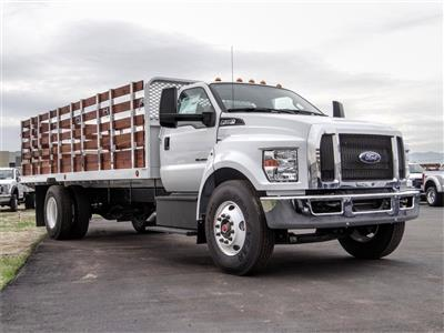 2019 F-650 Regular Cab DRW 4x2,  Scelzi SFB Stake Bed #FK2608 - photo 6