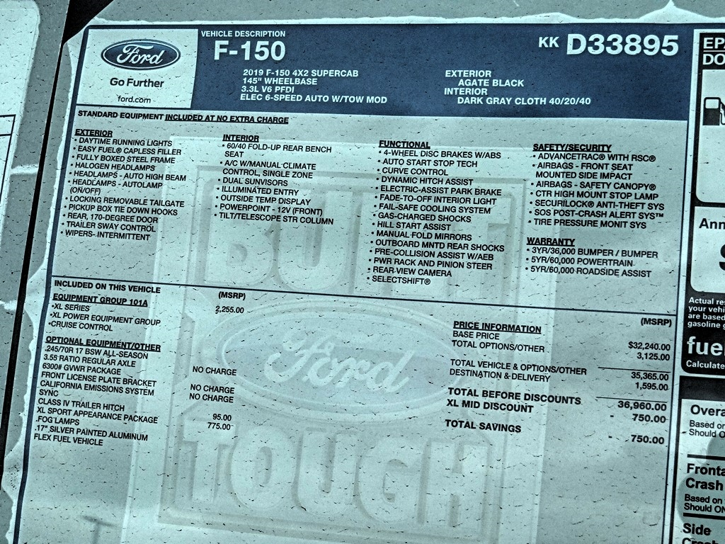2019 F-150 Super Cab 4x2, Pickup #FK2718 - photo 9