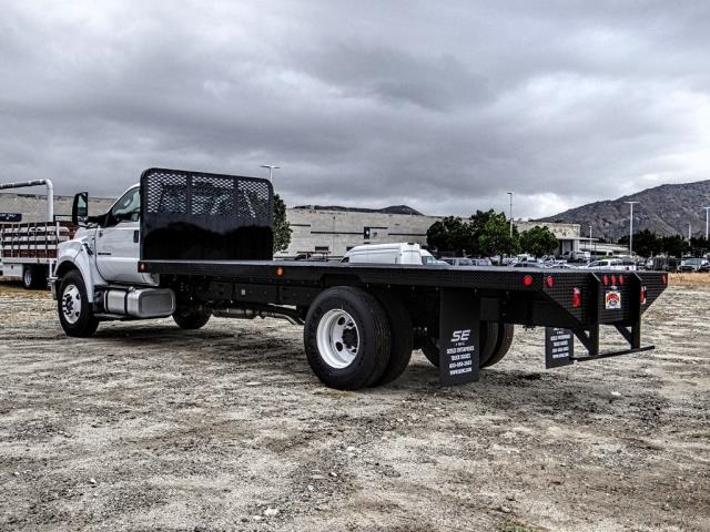 2019 F-650 Regular Cab DRW 4x2,  Scelzi Flatbed #FK2855 - photo 1