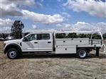 2019 F-550 Crew Cab DRW 4x2,  Scelzi Contractor Body #FK3091 - photo 1
