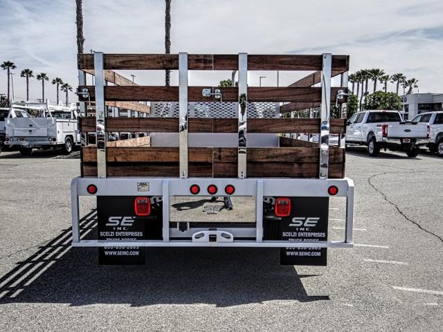 2019 F-350 Regular Cab DRW 4x2,  Scelzi Stake Bed #FK3138DT - photo 4