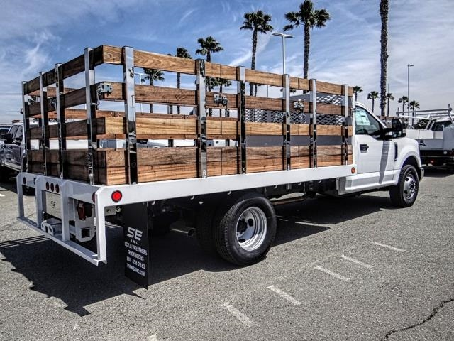 2019 F-350 Regular Cab DRW 4x2,  Scelzi Stake Bed #FK3138DT - photo 5