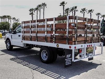 2019 F-350 Regular Cab DRW 4x2,  Scelzi Stake Bed #FK3138DT - photo 2
