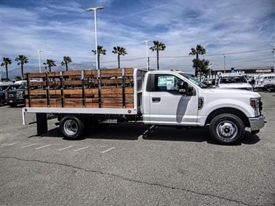 2019 F-350 Regular Cab DRW 4x2,  Scelzi Stake Bed #FK3138DT - photo 6