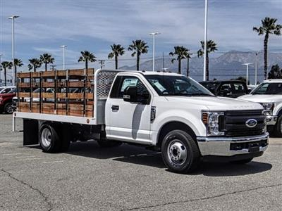 2019 F-350 Regular Cab DRW 4x2,  Scelzi Stake Bed #FK3138DT - photo 7